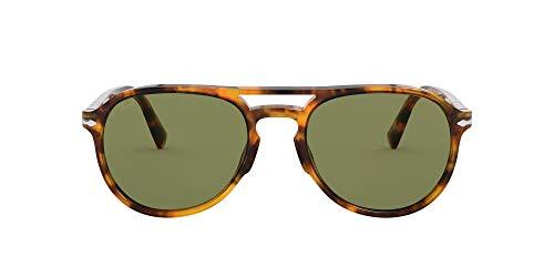 Persol 0PO3235S Gafas, CAFFÉ/Green, 55 Unisex Adulto