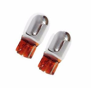 Pack 2 ampoules Chromé clignotants WY21W