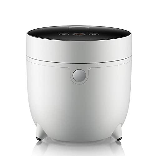 Mini Cocina de arroz, monitoreo de sensores de Temperatura en Tiempo Real, Toque Inteligente, Recubrimiento Antiadherente es fácil de Limpiar,A
