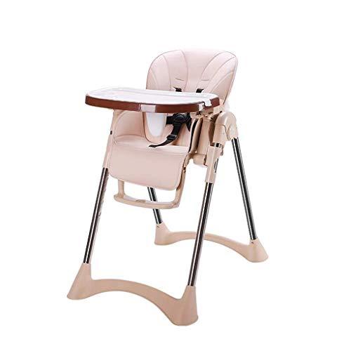 NXYJD El niño del bebé Silla de Comedor Silla Plegable Multifuncional de Comidas IKEA bebé portátiles niños Mesa de Comedor Silla Y (Color : A)