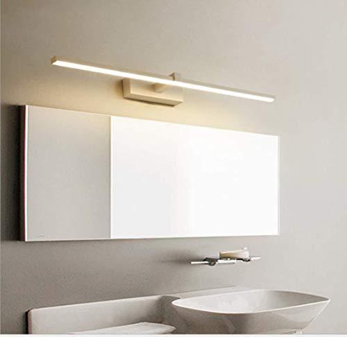 WIVION Lámpara De Baño LED, Lámpara De Espejo Aplique De Baño LED 6000K Luz Blanca para Espejo Muebles De Maquillaje Aparato Montado En La Pared,22w/120cm