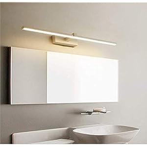 WIVION Lámpara De Baño LED, Lámpara De Espejo Aplique De Baño LED 6000K Luz Blanca para Espejo Muebles De Maquillaje…