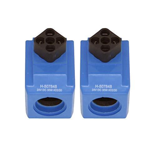 Notonmek 2X H507848 H-507848 24 V 30 W Magnetventilspule für Vickers