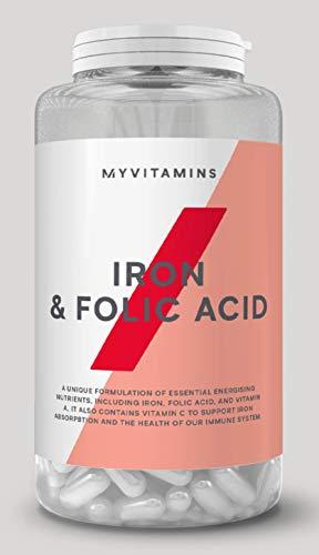 Myprotein マイプロテイン 葉酸 鉄分 ビタミンC タブレット 800µg配合 90錠 90日分 3ヶ月分
