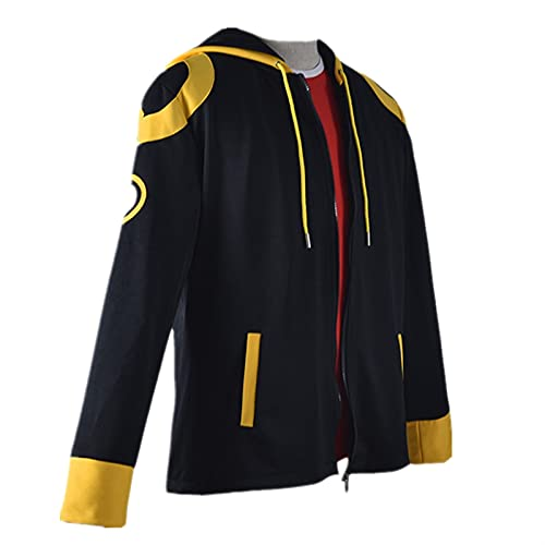 2021 New Hombre Cremallera con capucha de algodón DSIEX 707 Mystic Messenger Hoodie 707 Mystic Messenger Imprimir Sudaderas con capucha Sudadera Chaqueta Top