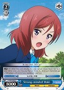 Weiss Schwarz - Strong-minded Maki - LL/W24-E092 - C (LL/W24-E092) - Booster Pack Love Live