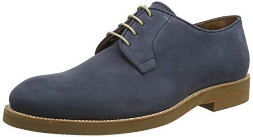 Lottusse T2464, Zapatos de Cordones Brogue Hombre, Azul (Heaven Marino Heaven Marino), 40 EU