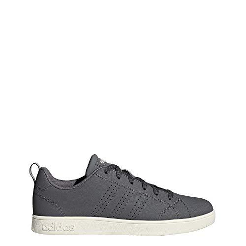 adidas VS Advantage Clean - Zapatillas para mujer, color gris, talla, (Gris Cinco, rosa aerodinámico/blanco Nube.), 35 EU