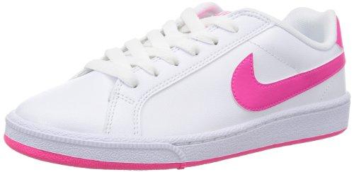 Nike Majestic - Scarpe da ginnastica da donna, colore: bianco e rosa, Bianco (bianco), 38.5 EU