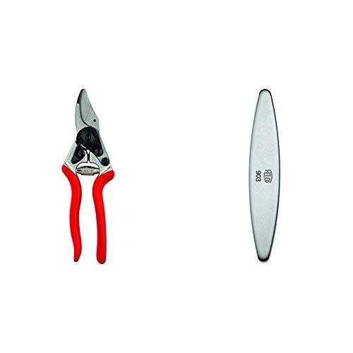 Felco Obstbau Und Gartenschere Nr 6 & 154261 903 Schleifstein, Wetzstein mit Diamant-Beschichtung, für Messer der Gartenscheren geeignet-903, grau Länge 100mm