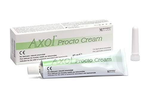 Mar-Farma Axol Procto Cream, Verde Chiaro - 46 g