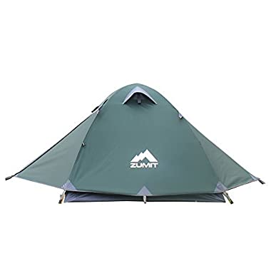 ZUMIT 2-3 Person Tent for Family Camping Waterproof Dome Instant Cabin Backpacking Tent#610