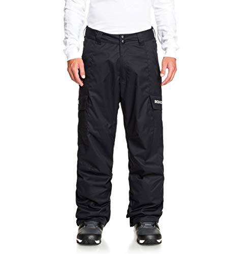 DCSHJ #DC Shoes Banshee-Pantaloni da Snowboard da Uomo, Black, XL