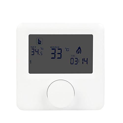 Vokmon Pantalla LCD de Pared Caldera de Gas de la Temperatura del termostato semanal programable Controlador Digital de Habitaciones Calefacción Termostato Control Digital de Temperatura