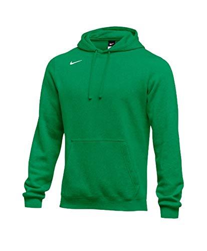 Nike Men's Pullover Fleece Club Hoodie (X-Large, Kelly Green)