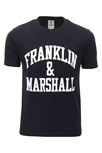 Franklin & Marshall Jungs T-Shirt Rundhals (Marine) 10-11 Years