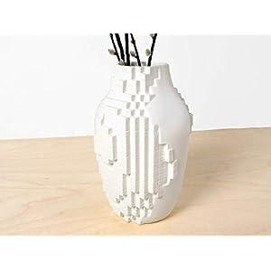 Pixel Vase – vasen vintage künstliche modern keramik wohnung deko-ration pixels