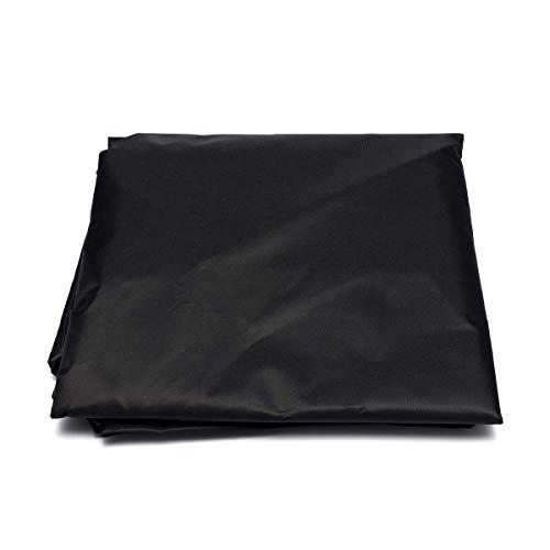DONGZHI Generador Impermeable a Prueba de Polvo Cubrir 210D Oxford Paño Jardín Patio Mueble Cubiertas Almacenamiento Cubrir (Color : Black, Size : 78x60x53cm)