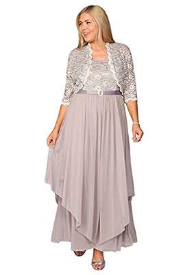 R&M Richards Long Mother of The Bride Formal Dress