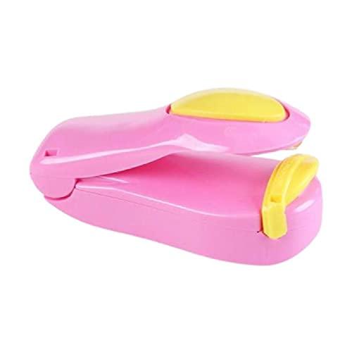 mcbeitrty Portátil Inicio Presión de Mano Calor Mini Sellador Bolsa de Plástico Equipo de Embalaje de Alimentos Handheld Multifunción Fácil Operación