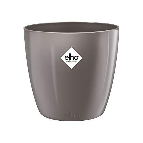 elho brussels diamond round 18cm coprivaso - grigio perla