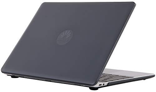 ProCase Hülle Abdeckung für Huawei MateBook 13 Schale Gehäuse Schutzhülle Case, Gummierte Plastik Hartschalenhülle für Huawei MateBook 13 Zoll Series Laptop 2019 -Schwarz