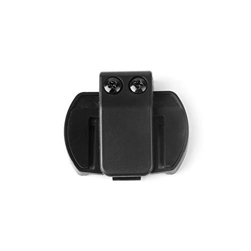 ZHANGFANGPING Auriculares de Altavoz de micrófono V4 / V6 Interphone Universal Headset Casco Casco de intercomunicador Ajuste para Dispositivos de Motocicleta (Color : Clip)