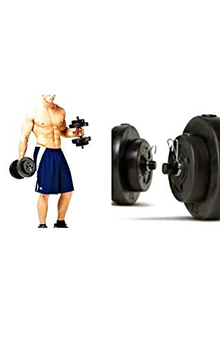 Golds Gym. Vinyl Dumbbell Set, 40 Lbs Keep Yourself Fit and Toned with This Dumbbell Set. (40 Lbs)