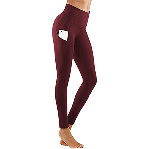 FDSJKD Alta Cintura Fitness Gimnasio Leggings Mujeres sin Fisuras energía Medias Entrenamiento Correr activando Ropa de Yoga Pantalones Empuje hacia Arriba Deporte Entrenamiento Pantalones