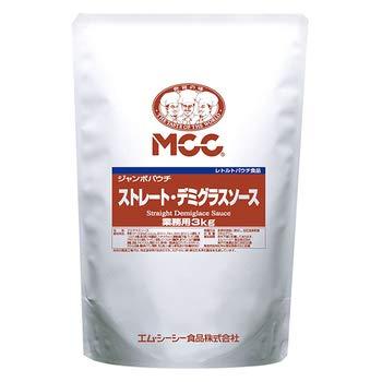MCC ジャンボパウチ ストレート デミグラスソース 3kg 袋【常温】