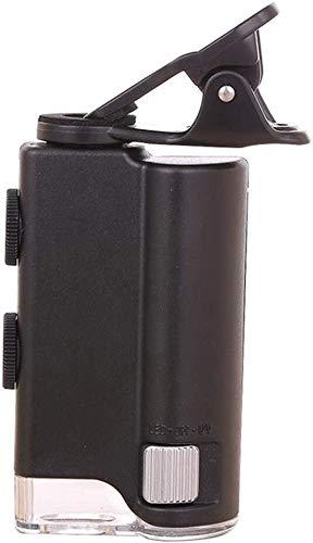 ARCH Lezen Vergrootglas, Lezen Vergrootglas voor senioren Vergrootglas Zoom 60X-100X Microscoop Vergrootglas voor Cellphone UV Valuta Detecteren Biologie Sieraden Appraisal Microscoop