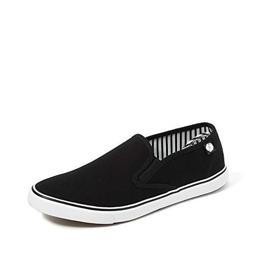 Amazon Brand - Symbol Men's Black Sneakers-8 UK/India (42 EU)(AZ-SH-01B)