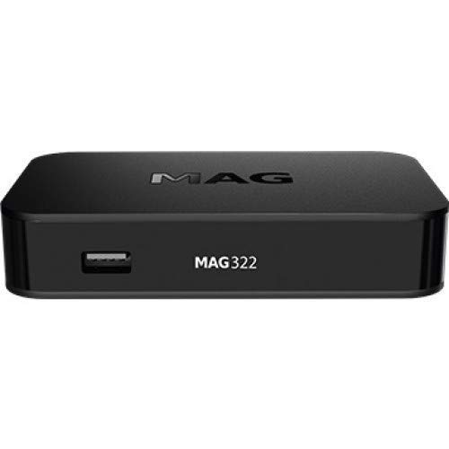Infomir MAG322 IPTV Box No Built-in WiFi + HDMI Cable + Remote + Power Adapter + Battery