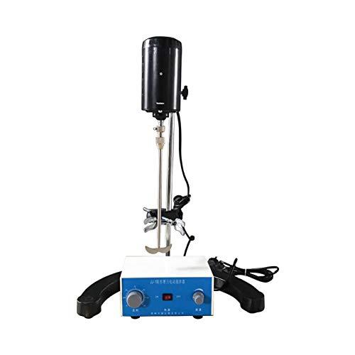 SISHUINIANHUA Mezclador de múltiples Funciones 100W / 60W 4000rpm eléctrico Mezclador agitador aéreo Ajustable mantequera Stir Máquina Mezcladora de Laboratorio Stirre,60w