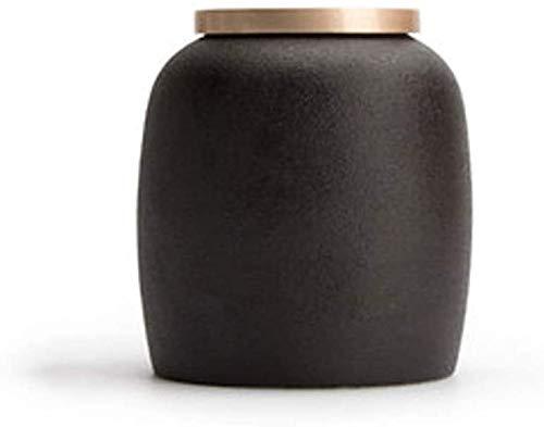 LSYFCL urne Erwachsene Feuerbestattungsurnen Begräbnisurne Keramik Handgefertigte Urnen Urnen für Asche Adult Pet Ashes Human