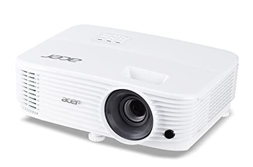 Acer Proyector DLP P1155 (SVGA (800 x 600 píxeles), 4000 lúmenes ANSI, Contraste 20.000:1, 3D, Keystone, Altavoz de 3 W, HDMI (HDCP), HDMI (con MHL y HDCP), Conector de Audio) para Empresas/Education