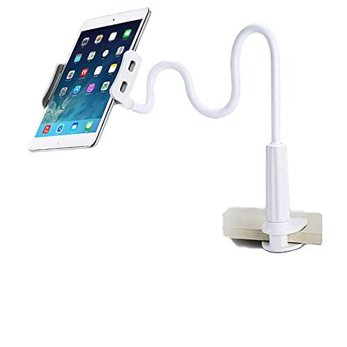 VBARV Soporte de teléfono celular cuello de cisne soporte de brazo largo, soporte para teléfono móvil, universal, flexible, giratorio de 360 grados, para escritorio, cama, A, 147 cm