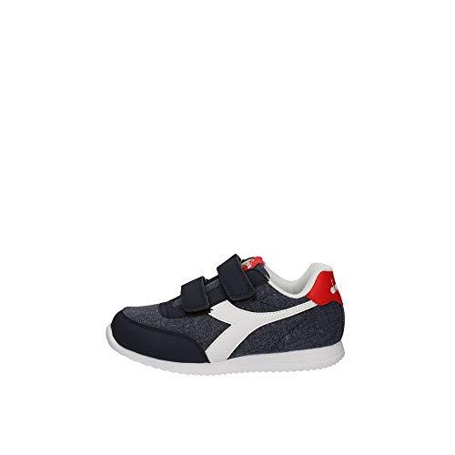 Diadora Scarpe da Bambino Sneaker Jog Light PS Blu 101.175774-01-60065