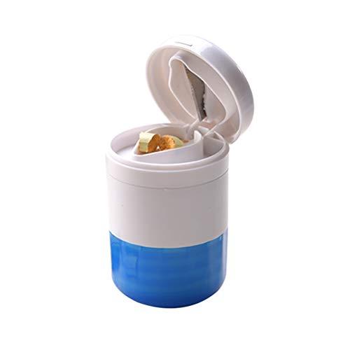 SUPVOX Multifunción píldora trituradora Splitter Pill Pulverizer Grind Medicina Cut Tablets divisor...
