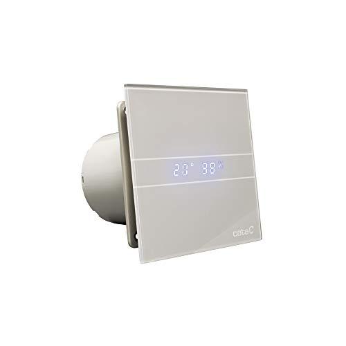 Cata 8422248056076, 200 W, 230 V, Silber-Graue Glasfront