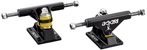 Ridge Skateboards Unisex's 27 Skateboard trucks voor Big Brother Cruiser-Zwart, 4-inch