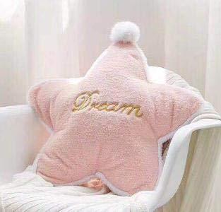 N / A Nordic Pink Cloud Crown Kissen Kissen für Mädchen für Kinder Baby Moon Star Plüsch Kissen Kissen für Kinderzimmer 25-45CM