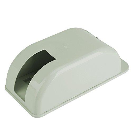 Dewin Soporte de Bolsa de Plástico,Caja de Almacenamiento de Bolsa de Plástico de Pared,Dispensador de Organizador de Bolsa de Basura (Color : Green)