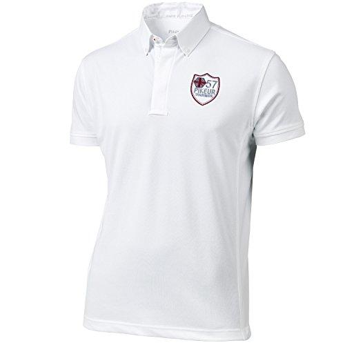 Pikeur Herren turniershirt ½ brazo, Unisex, color Weiß, tamaño 43