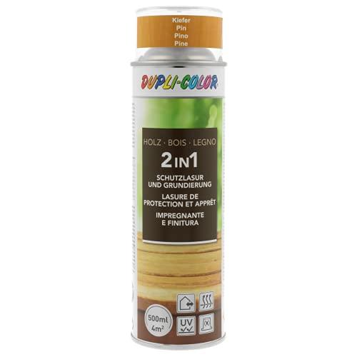 DUPLI-COLOR 446443 Holzschutzlasur Spray Kiefer 500 ml