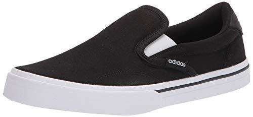 adidas womens Kurin Shoes Sneaker, Black/White/Black, 6.5 US