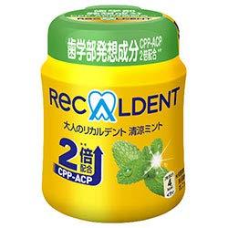 モンデリーズ・ジャパン 大人のリカルデント 清涼ミントボトルR(粒ガム) 140g×6個入×(2ケース)