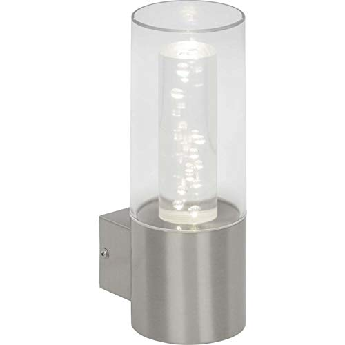 Brilliant g96302/82Arctic applica esterna LED, Metallo/Plastica, incasso, 6W, acciaio