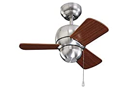 Budget Choice for Best Garage Ceiling Fan: Monte Carlo 24-Inch Damp-Rated Micro Ceiling Fan