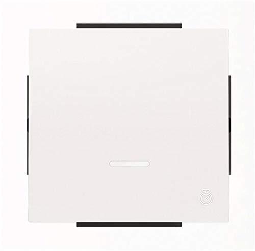 Niessen sky - Tecla interruptor temporizado blanco